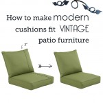 How to resize patio cushions