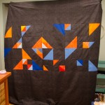 Color Theory Quilt, the back