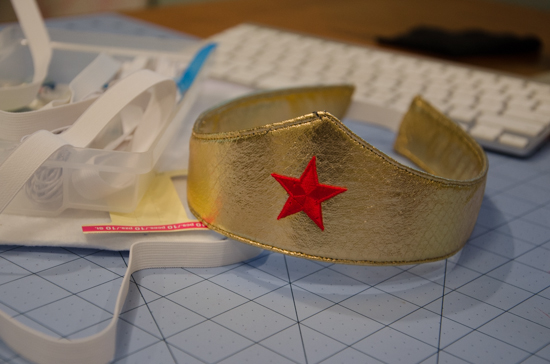 Make Your Own Wonder Woman Crown Making The Wonder Woman Cuffs