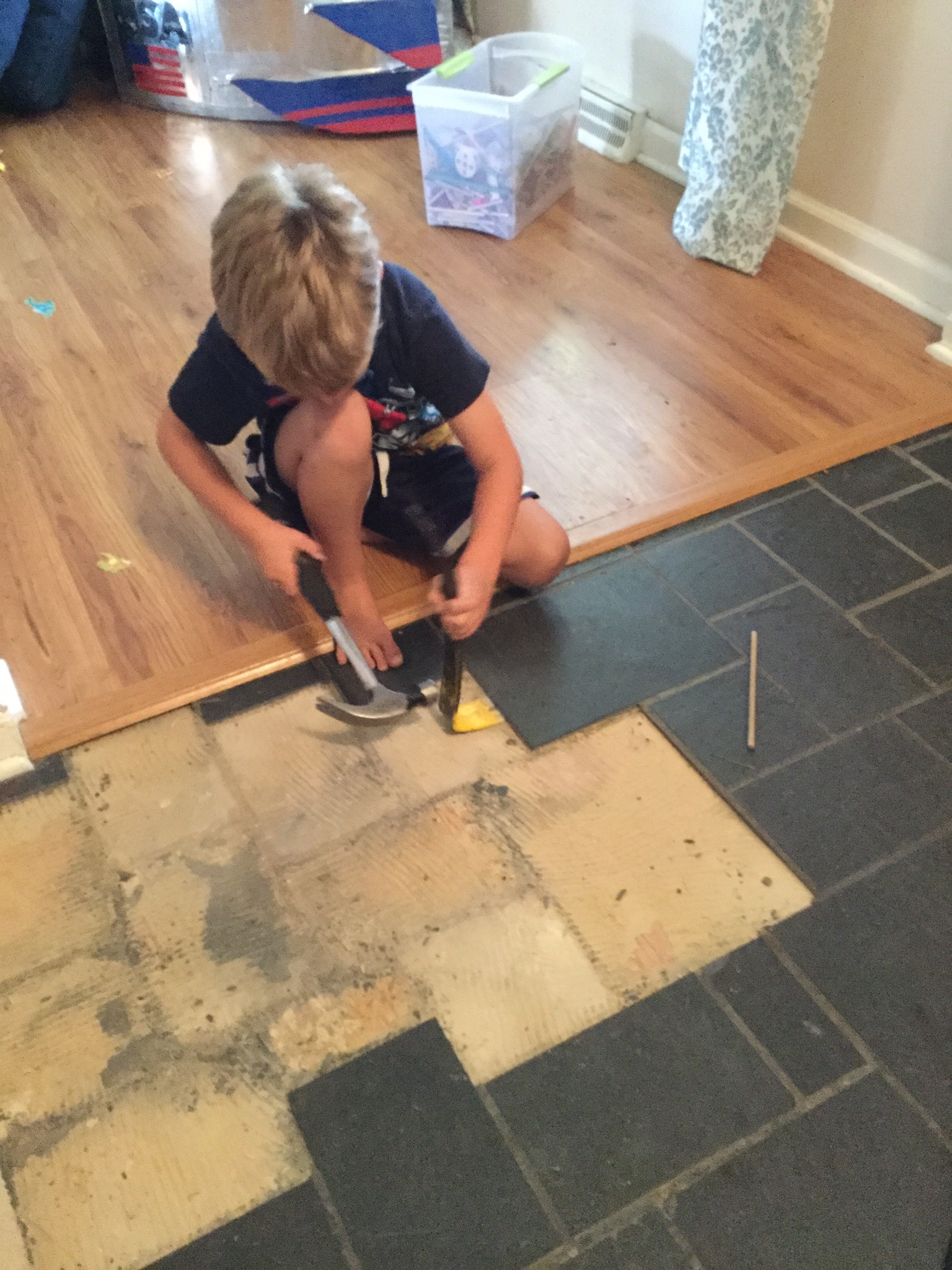 Installing large tile removing tile dailygadgetfo Image collections
