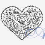 Coloring Book Valentines
