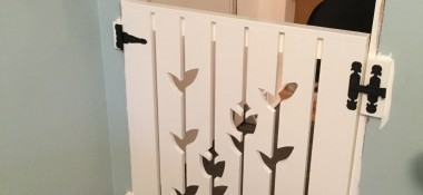 Pretty pet gate