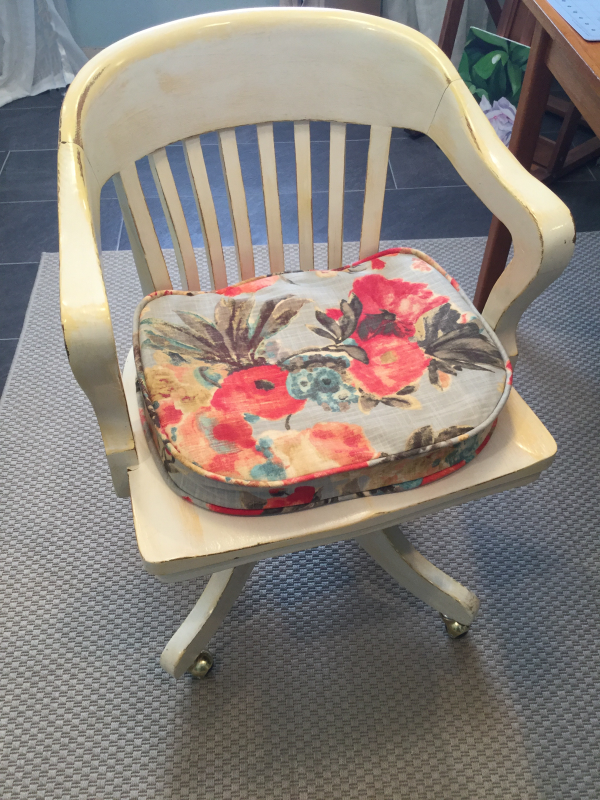 sewing a cushion cover