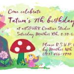 Fairy Garden Party Invitation